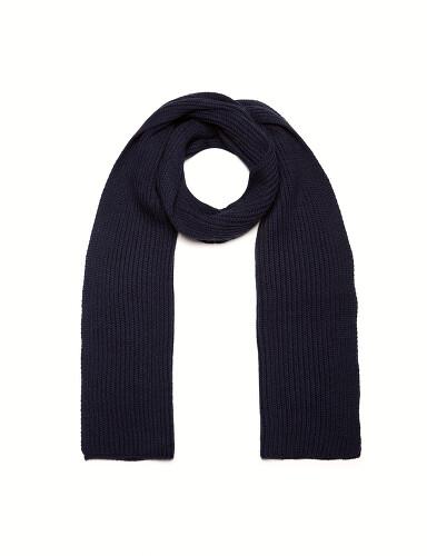 вязаный шарф резинка